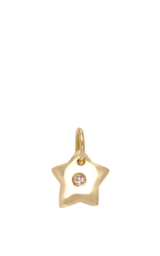 Medium with love darling gold small little star charm