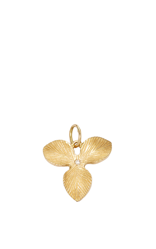 Medium with love darling gold golden orchid charm