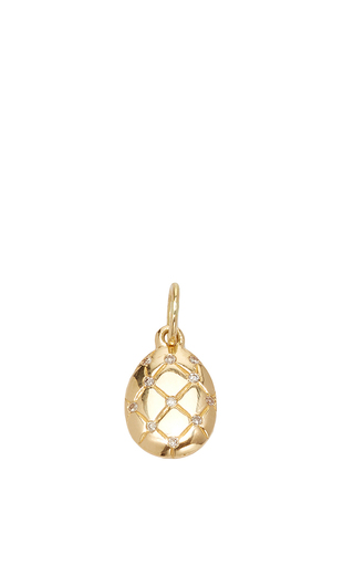 Medium with love darling gold isabella egg charm