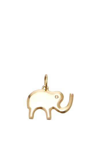 Medium with love darling gold lucky elephant charm