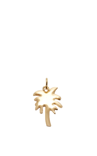 Medium with love darling gold palm tree charm