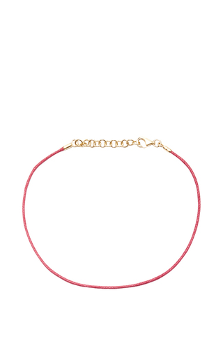 Medium with love darling pink string bracelet in pink
