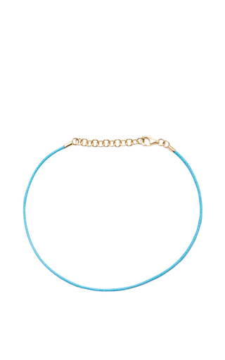 Medium with love darling blue string bracelet in blue