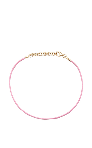 Medium with love darling light pink string bracelet in light pink