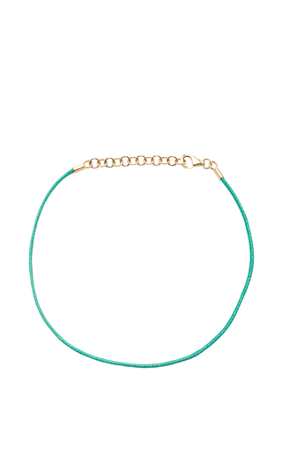Medium with love darling turquoise string bracelet in turquoise