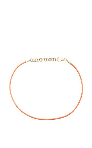 Medium with love darling orange string bracelet in orange