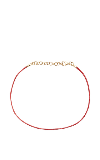 Medium with love darling red string bracelet in red