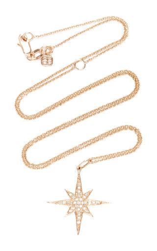 Medium sydney evan rose gold medium starburst charm