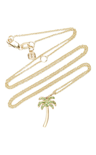 Medium sydney evan green palm tree charm