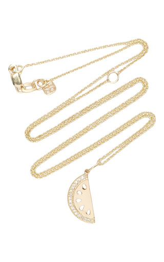 Medium sydney evan gold watermelon charm