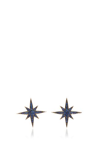 Medium sydney evan blue medium starburst studs