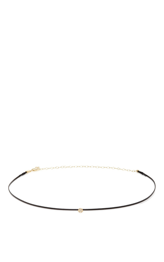 Medium sydney evan gold thin disc choker