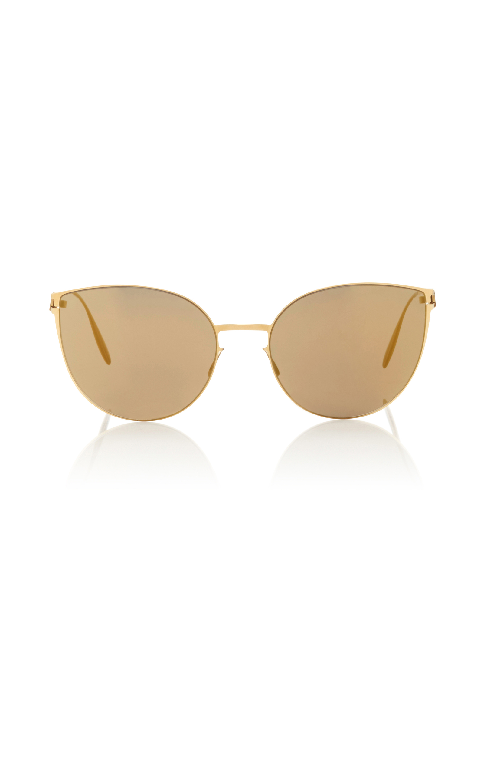 Studio7.2 Gold-Tone Sunglasses Mykita tSQI2BY8