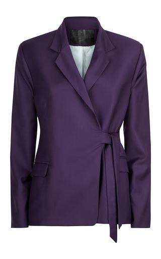 Medium malene oddershede bach purple catalyst wrap jacket