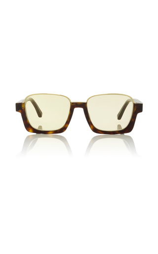 Medium marni brown tortoishell square sunglasses