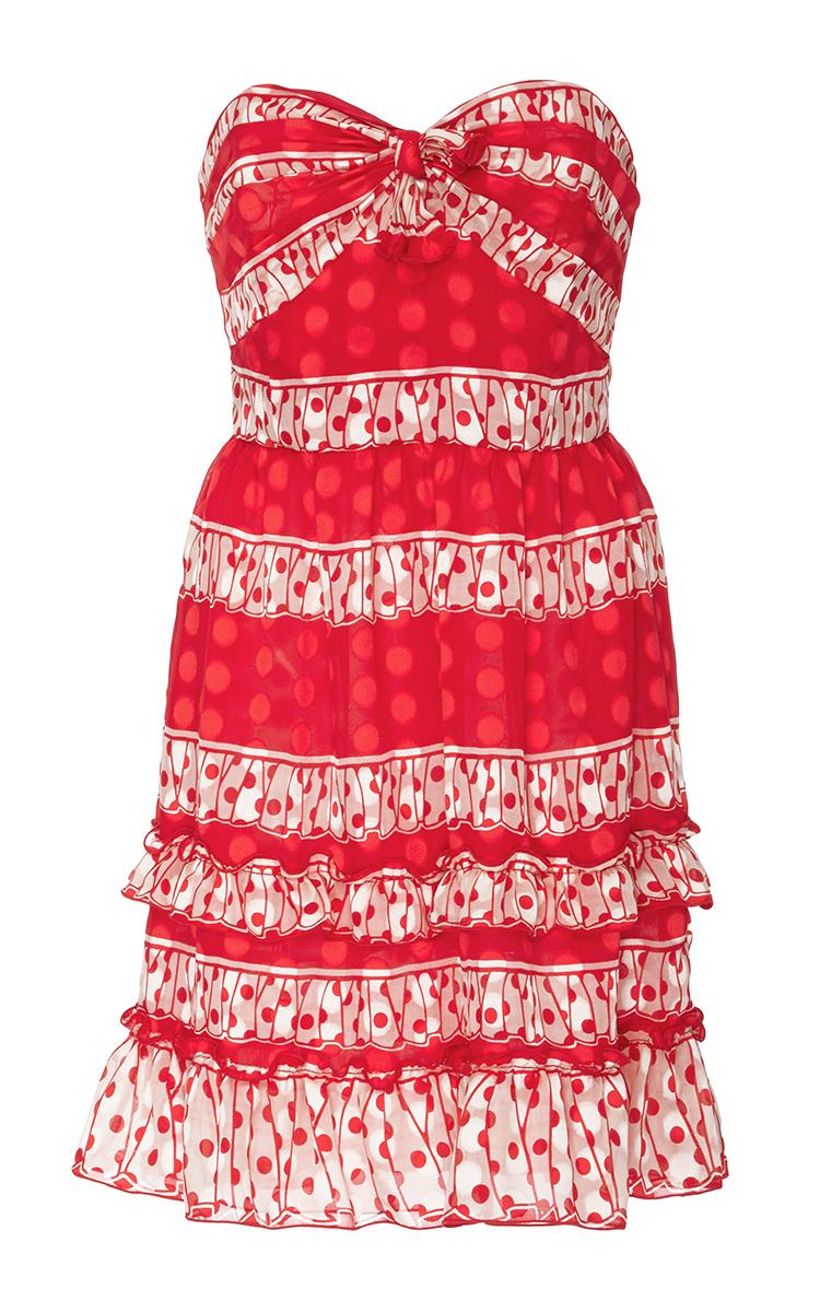 5bfcfffeda2 Anna SuiSpring Ruffles Strapless Dress. CLOSE. Loading