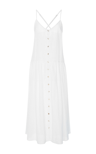 Medium mara hoffman white cotton dress