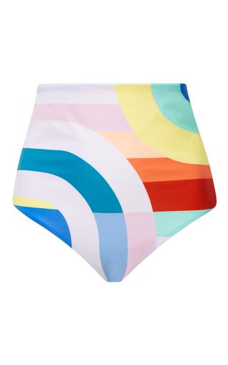 Medium mara hoffman multi meridian high waisted bikini bottom