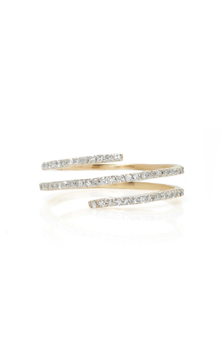 Medium mateo white 14k gold diamond ring