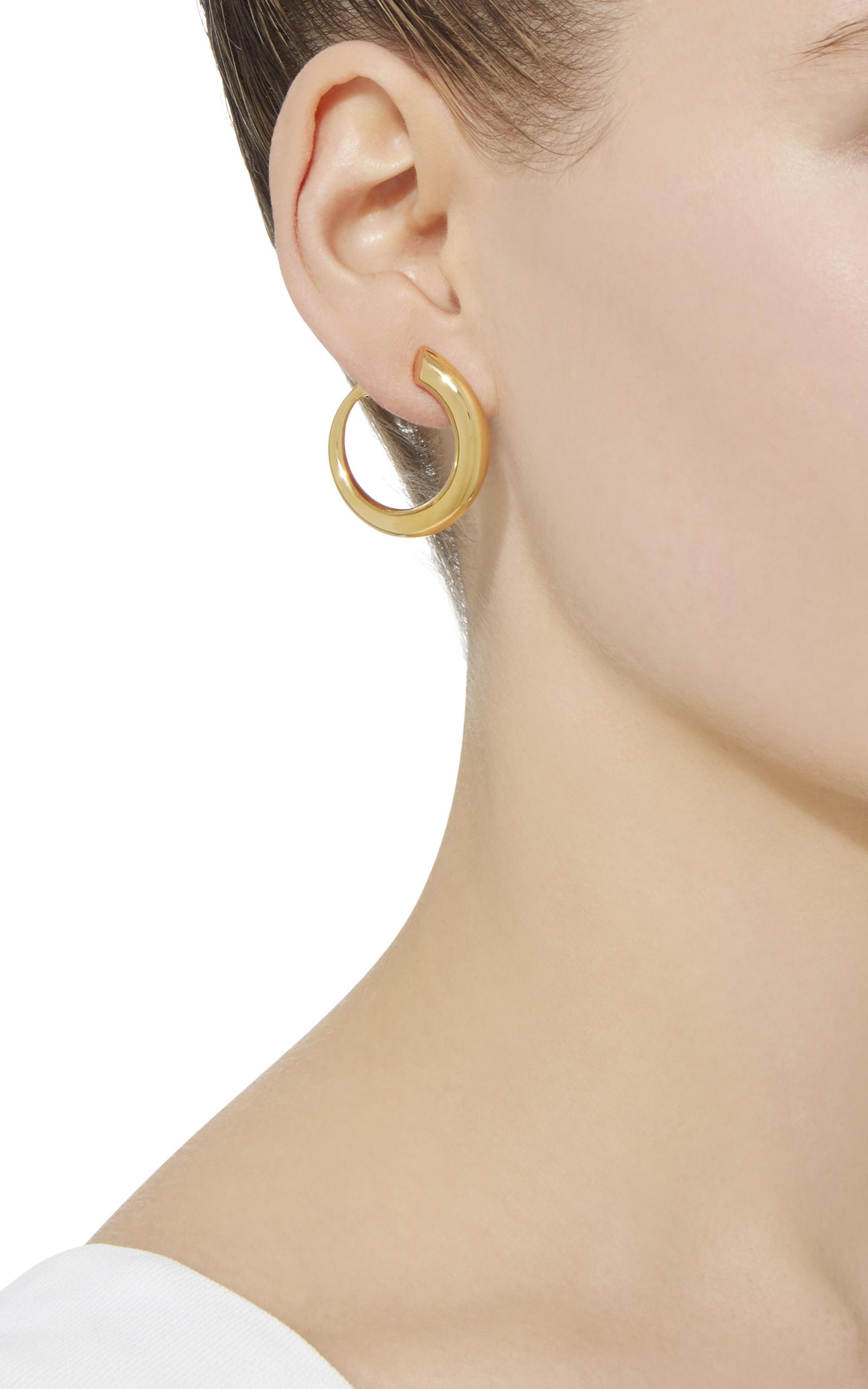 Charlotte Chesnais Gold Monie earrings v65ojs