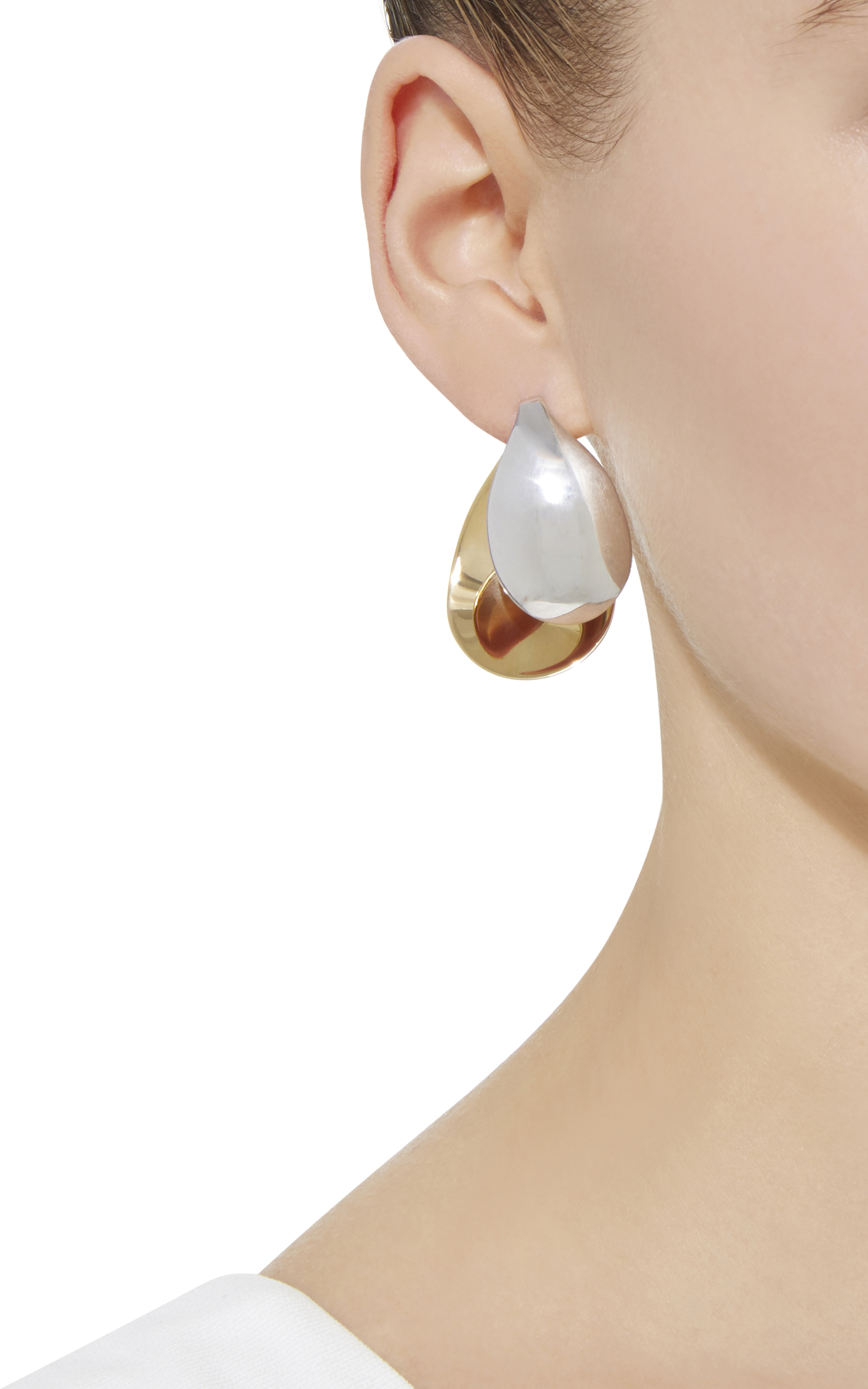 product vand earring gold swing earrings and silver mian charlotte chesnais vermeil