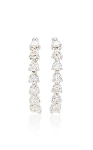 Medium ana khouri gold diamond mirian earrings