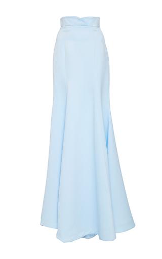 Medium lana mueller blue bluebeu sheath maxi skirt