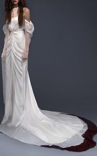 Medium vera wang white the delfina gown