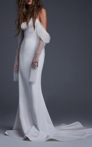 Medium vera wang white the floriana gown