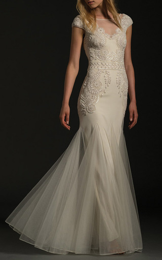 Medium temperley london white the florencia gown