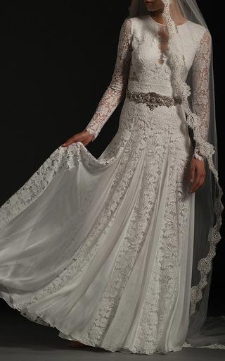 Medium temperley london white the rozalia gown