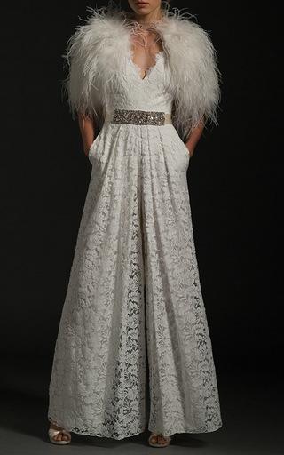 Medium temperley london white the noemia jumpsuit