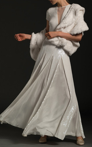 Medium temperley london white the nerida gown