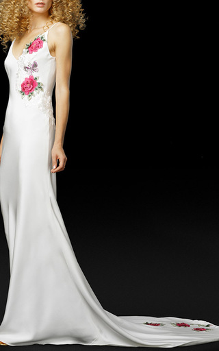 Medium elizabeth fillmore white the love rockets gown