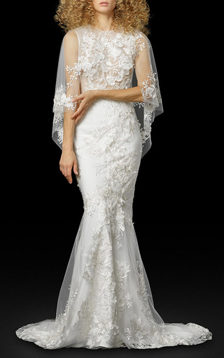 Medium elizabeth fillmore white the octavia gown
