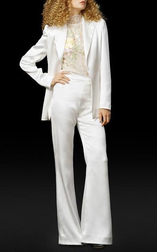 Medium elizabeth fillmore white the vic blouse
