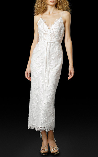 Medium elizabeth fillmore white the mika dress