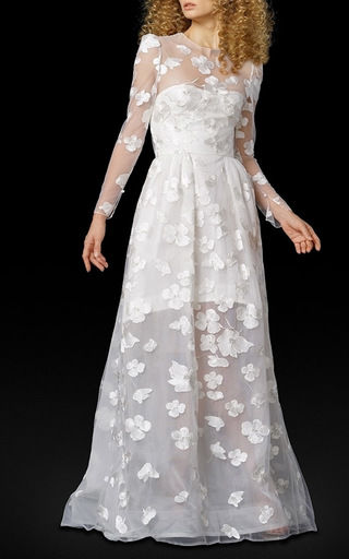 Medium elizabeth fillmore white the lyoka gown