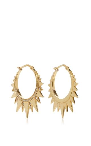 Medium venyx gold ra mini gold hoops