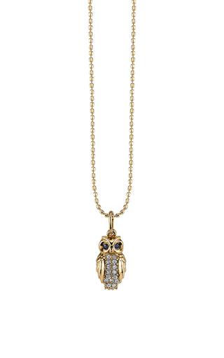 Medium sydney evan gold owl charm