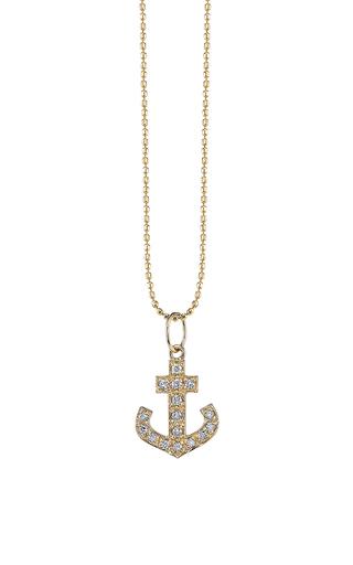 Medium sydney evan gold small anchor charm