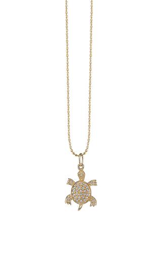 Medium sydney evan gold turtle charm