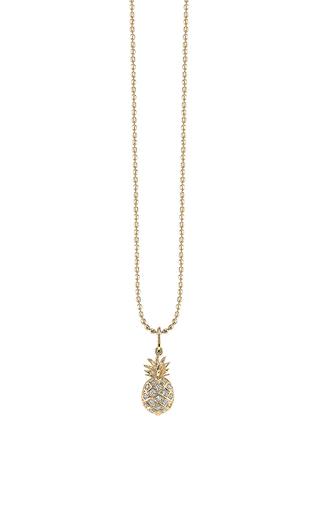 Medium sydney evan gold pave pineapple charm