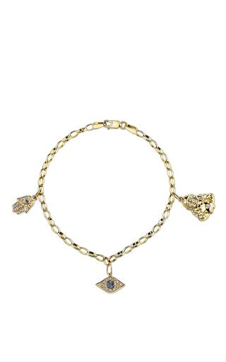Medium sydney evan gold 3 spiritual charm bracelet