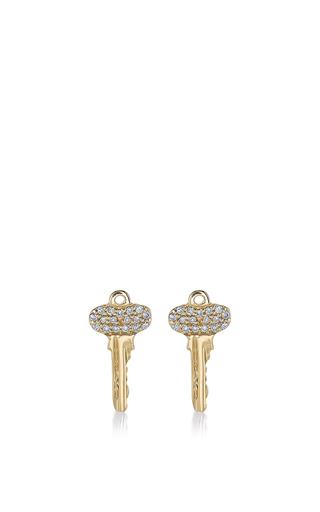 Medium sydney evan gold mini key studs