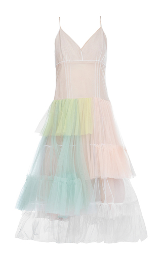 Medium anna october multi layered tulle corset dress