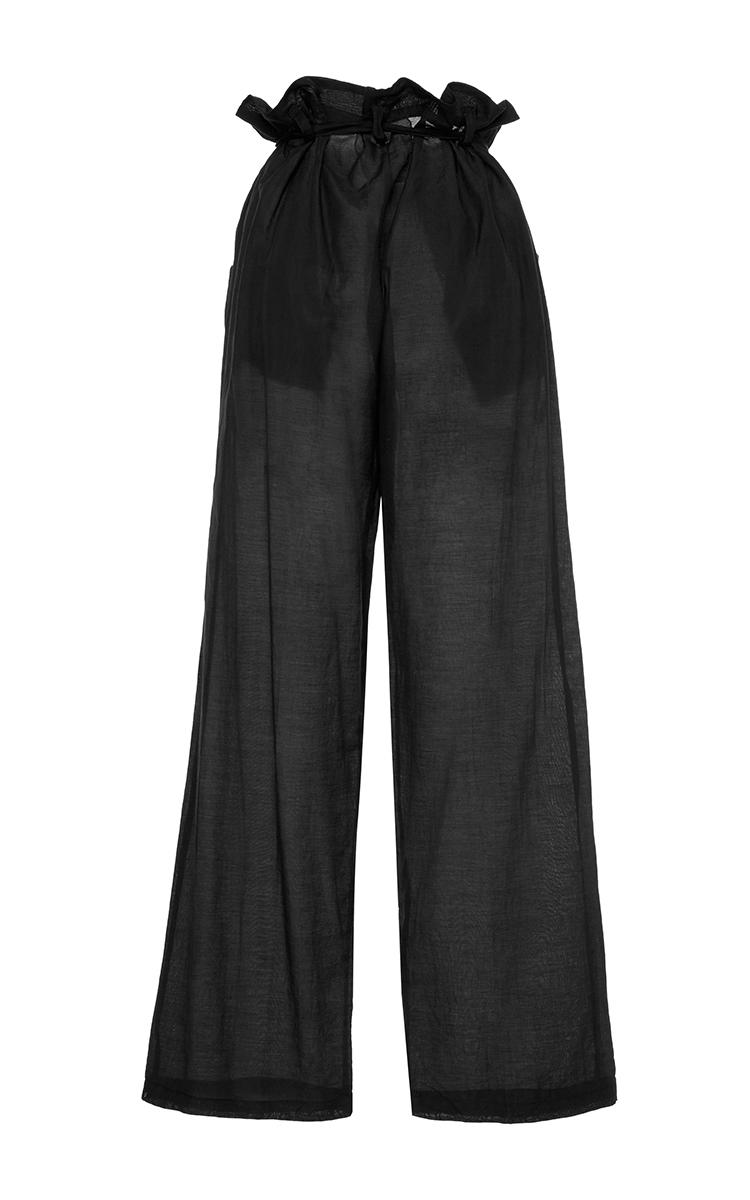 Silk Cotton Paperbag Pant By Awaveawake Moda Operandi
