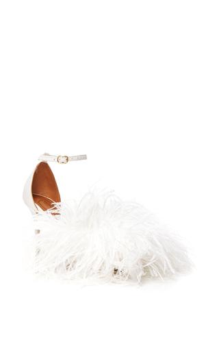Medium malone souliers white nicoletta sandal