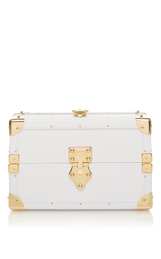 Medium pinel et pinel white mini malle white trunk