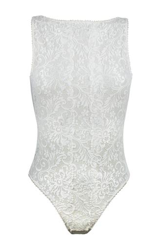 Medium la maison nouvelle white cygne blanche bodysuit